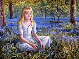 Pittura di Brigid Marlin