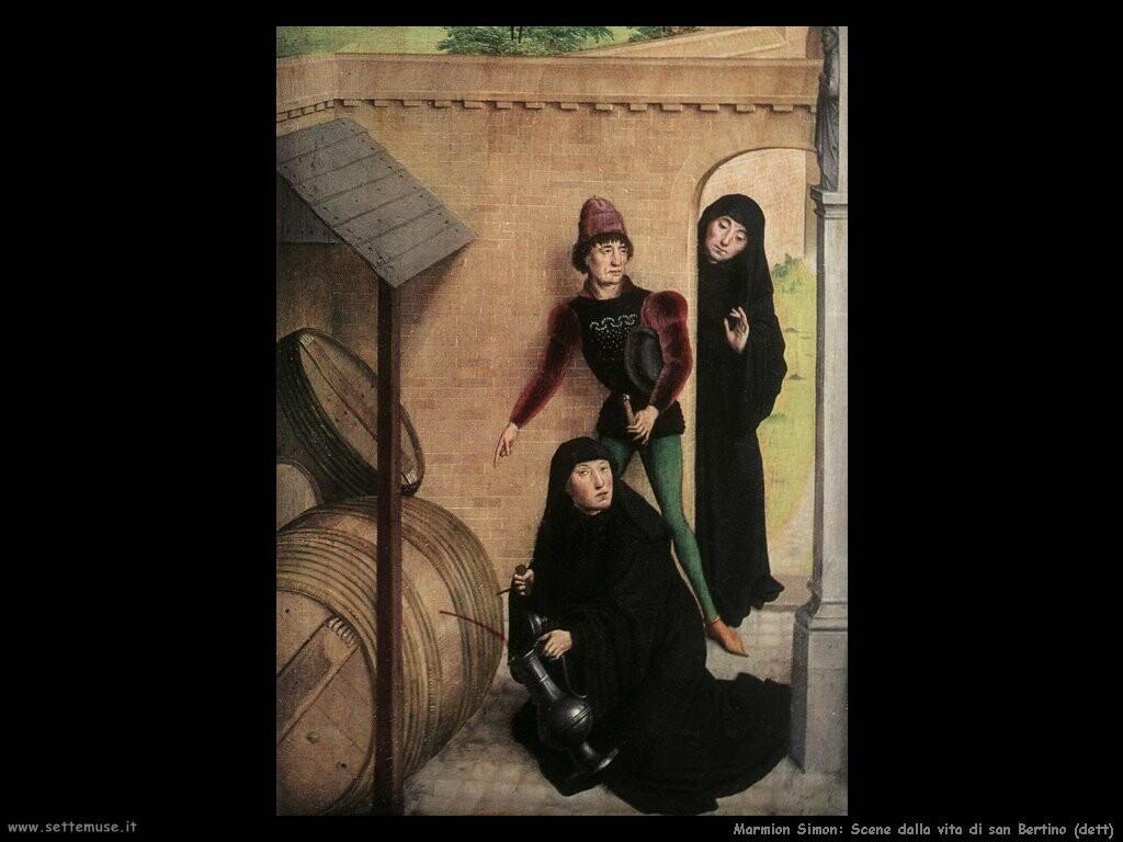marmion simon  Scene dalla vita di san Bertin