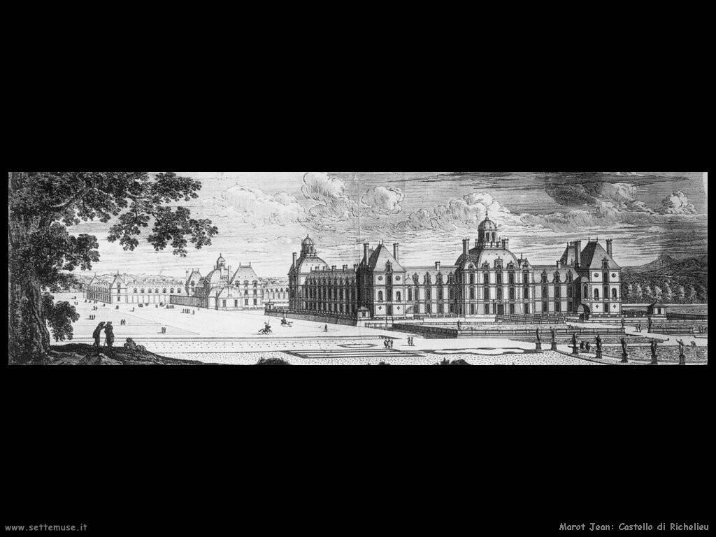 marot jean Il castello di Richelieu