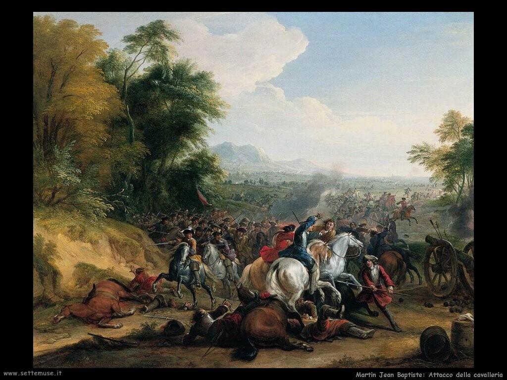 martin jean baptiste  Attacco della cavalleria