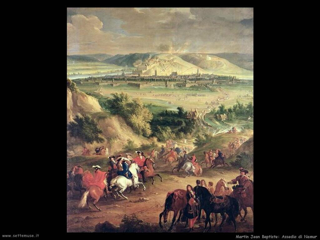 martin jean baptiste  Assedio di Namur