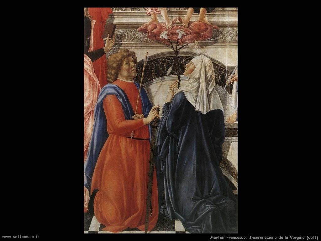 martini francesco di giorgio Incoronazione della Vergine (dett)