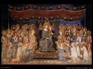martini simone Madonna con angeli e santi