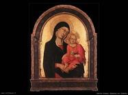 martini simone Madonna con bambino