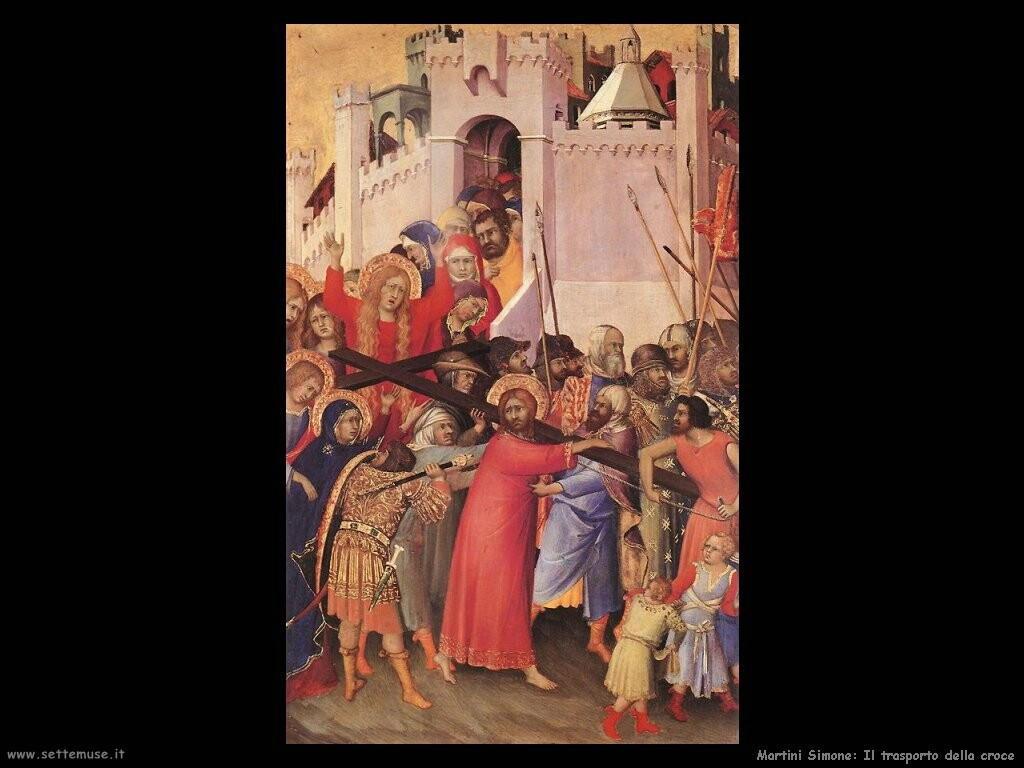 martini simone Il trasporto della croce