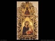 martini simone Madonna con bambino e angeli