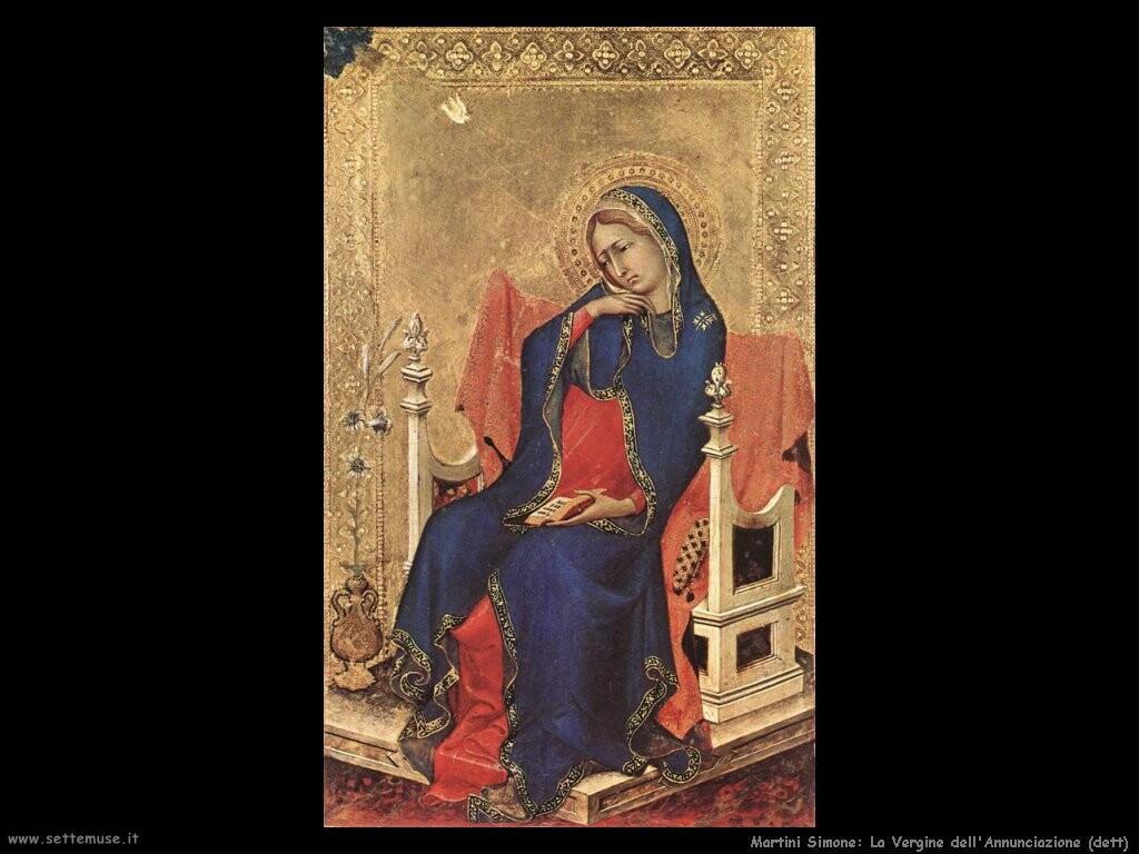 martini simone Vergine dell'annunciazione