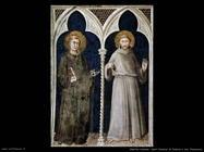 martini simone  Sant'Antonio da Padova e san Francesco