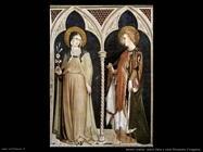 martini simone Santa Clara e santa Elisabetta d'Ungheria