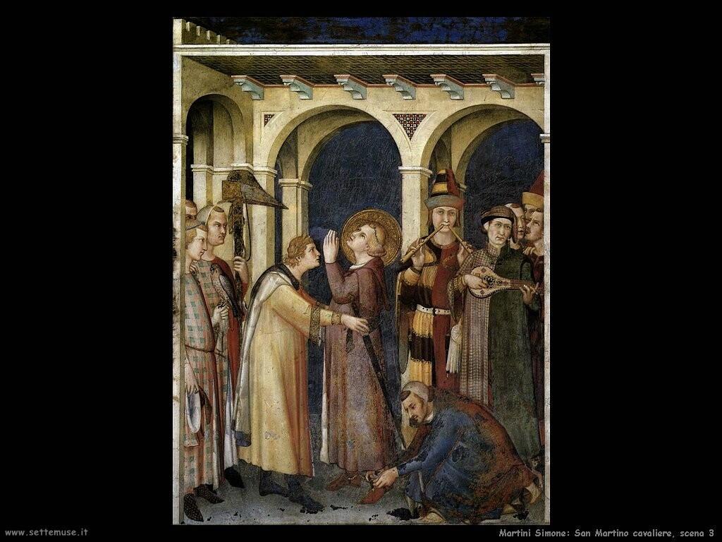martini simone  San Martino cavaliere scena 3
