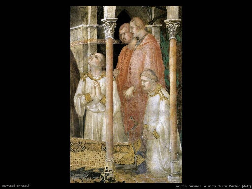 martini simone  La morte di san Martino (dett)