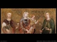 martini simone Madonna con bambino tra santo Stefano