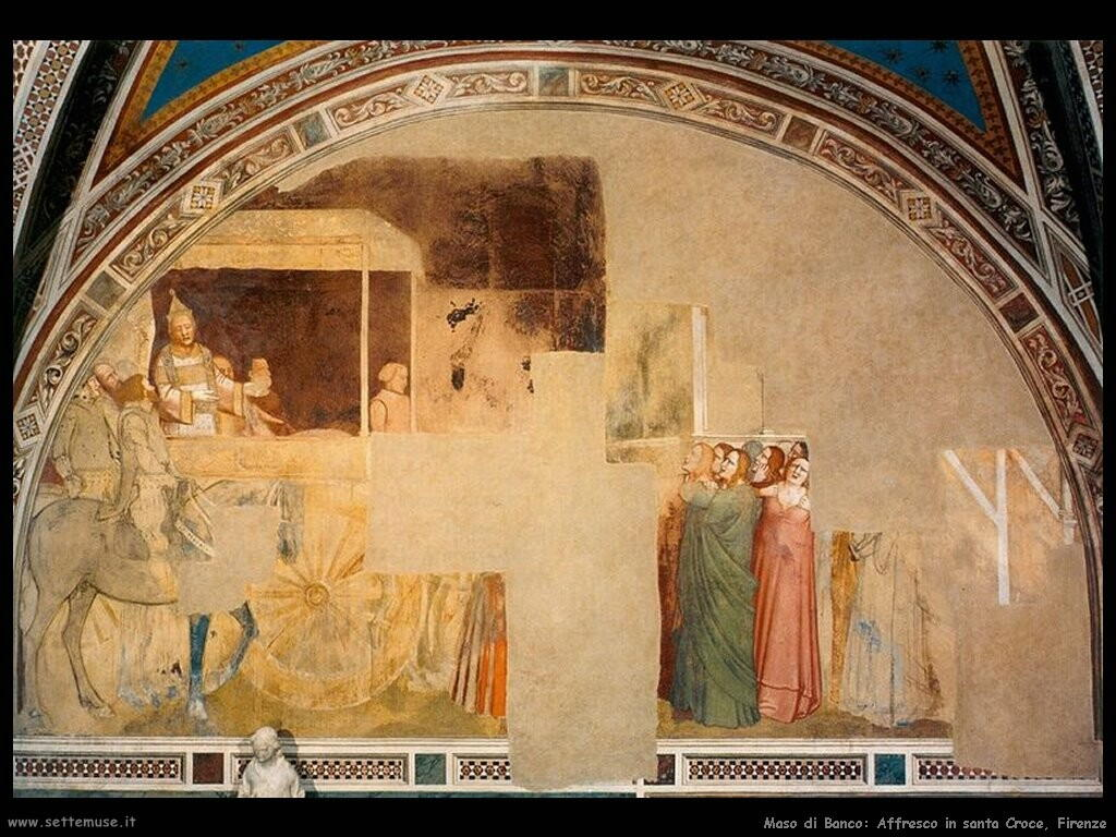 maso di banco affresco_santa_croce_firenze