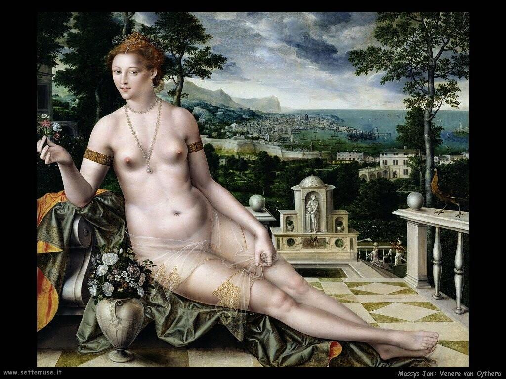 massys jan Venere van Cythera