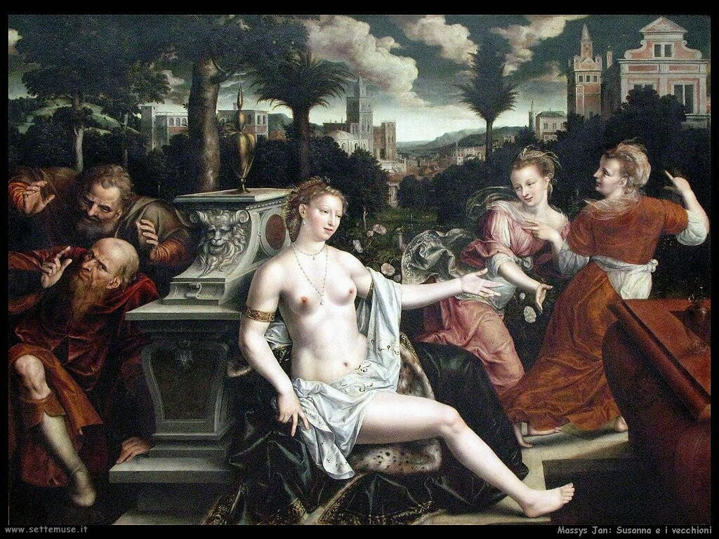 massys jan Susanna e i vecchioni