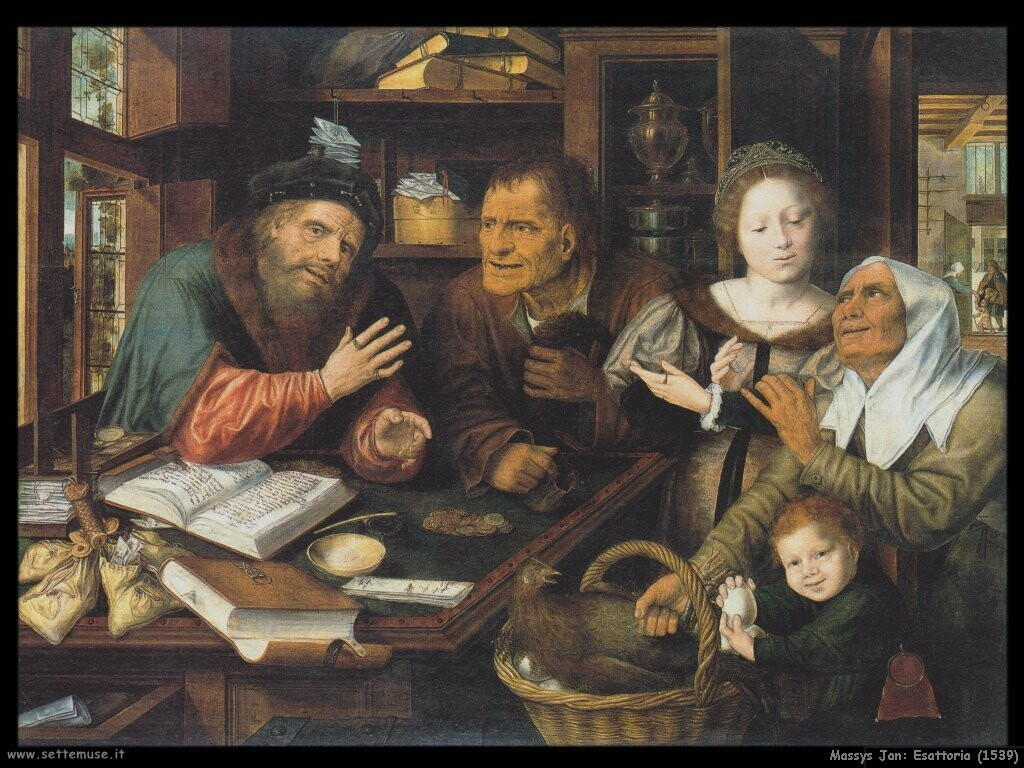 massys jan  Esattoria (1539)
