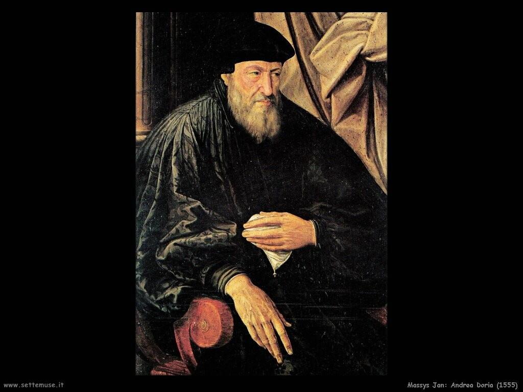 massys jan Andrea Doria (1555)