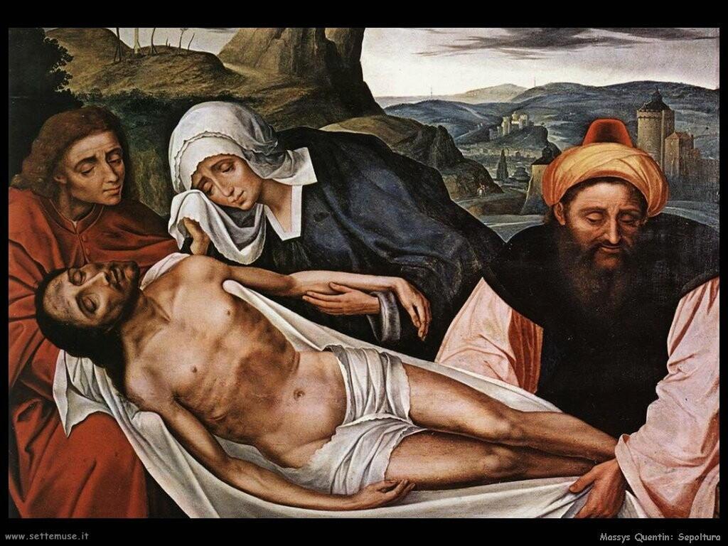 massys quentin Sepoltura di Cristo
