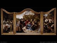 massys quentin  Pala d'altare di san Giovanni