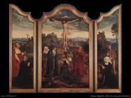 massys quentin Cristo in croce con donatori