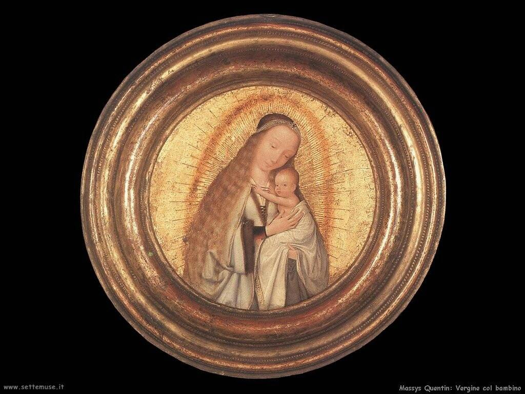 massys quentin  Vergine con bambino