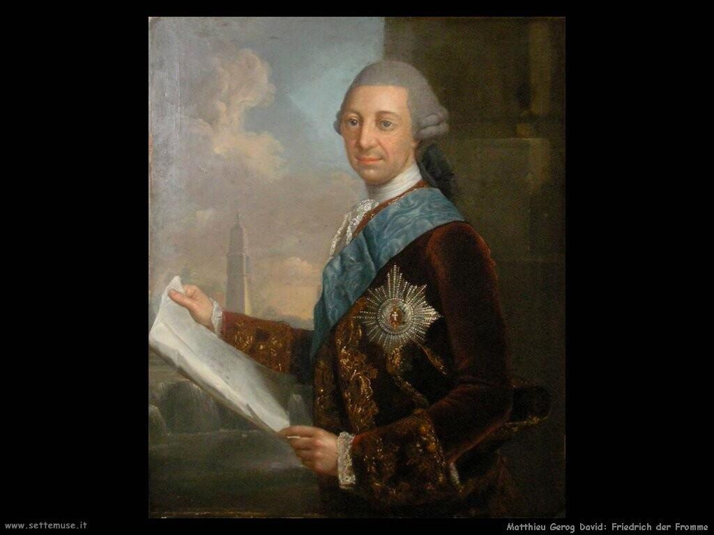 matthieu georg david Friedrich der Fromme
