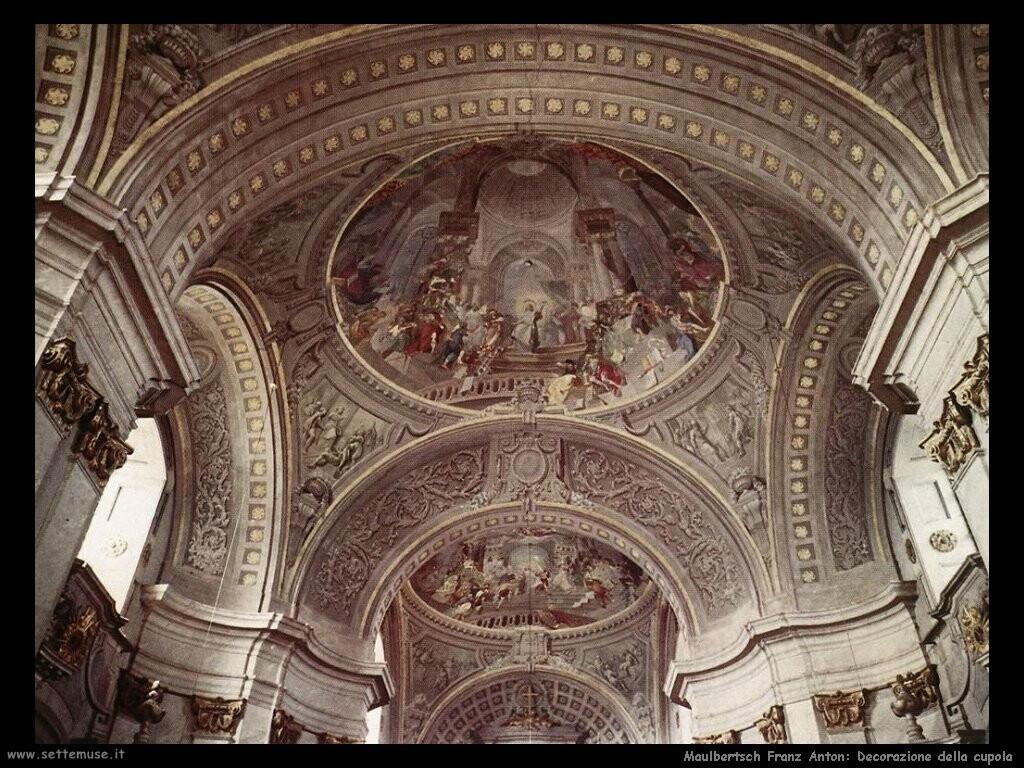 maulbertsch franz anton  Decorazione della cupola