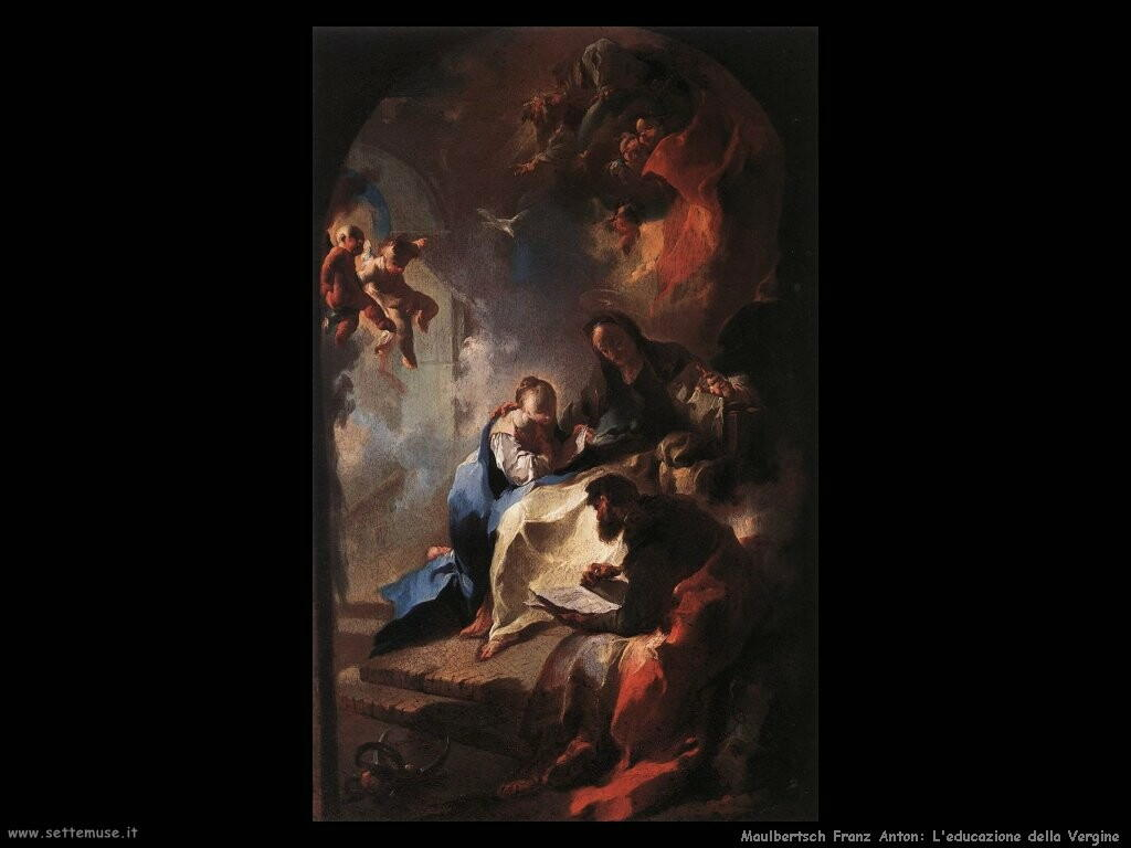 maulbertsch franz anton L'educazione della Vergine