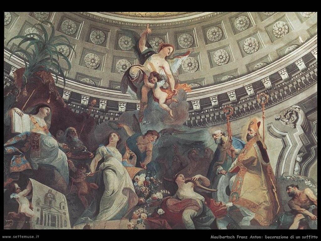 maulbertsch franz anton Decorazione di un soffitto