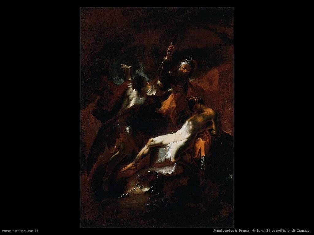 maulbertsch franz anton Il sacrificio di Isacco