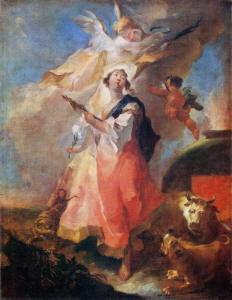 Dipinto di Maulbertsch Franz Anton