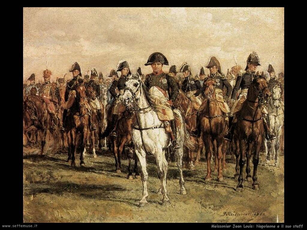 meissonier jean louis Napoleone e il suo staff
