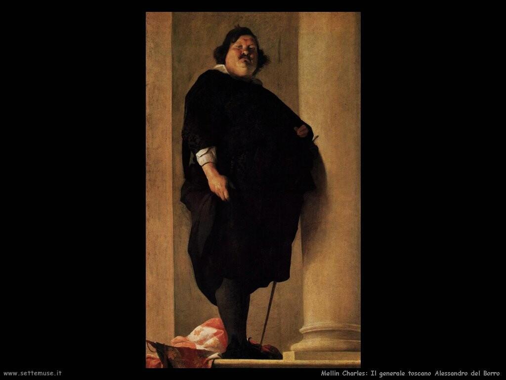 mellin charles  Il generale toscano Alessandro del Borro