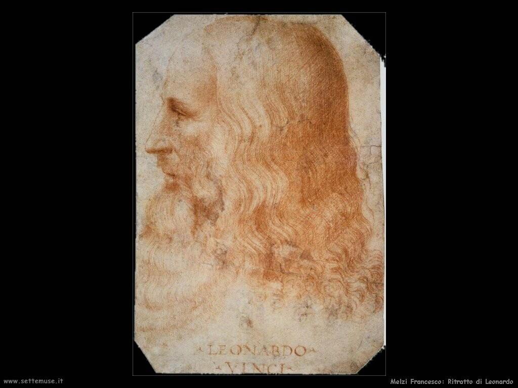 melzi francesco Ritratto di Leonardo