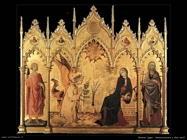 memmi lippo Annunciazione con due santi