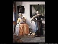 metsu gabriel Una donna legge una lettera
