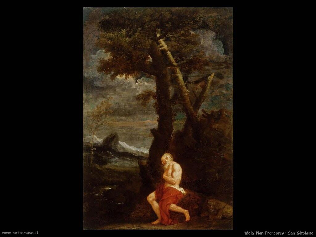 mola pier francesco San Girolamo