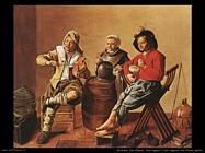 molenaer jan miense Due ragazzi e una ragazza che fanno musica