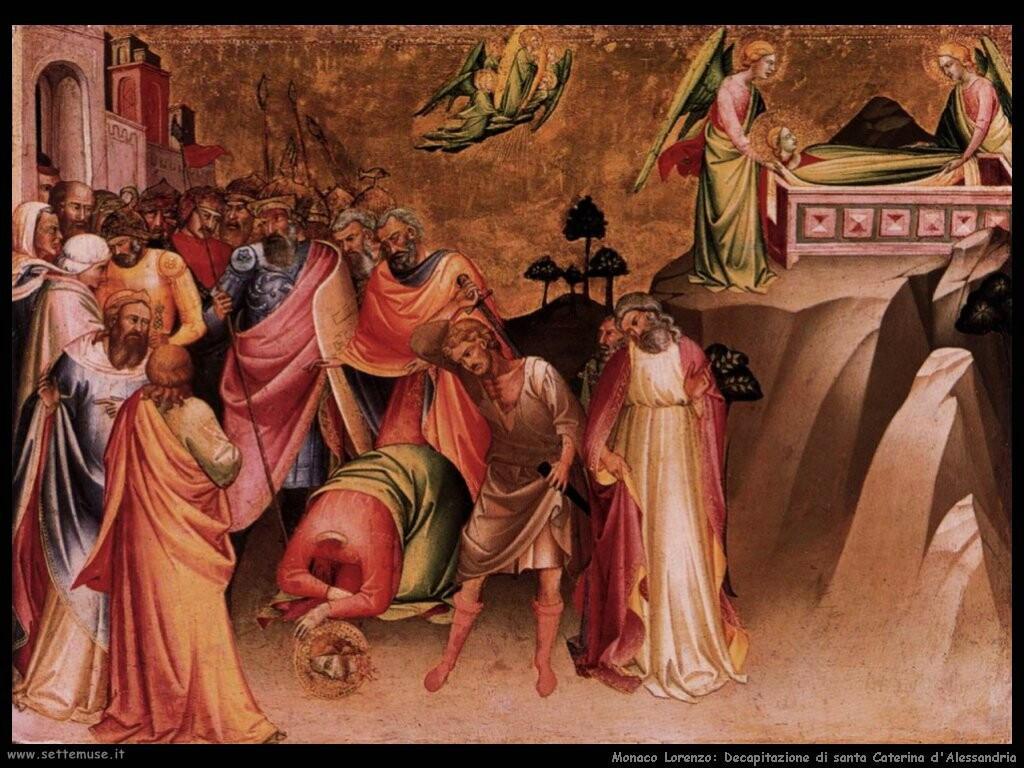 monaco lorenzo La decapitazione di santa Caterina d'Alessandria