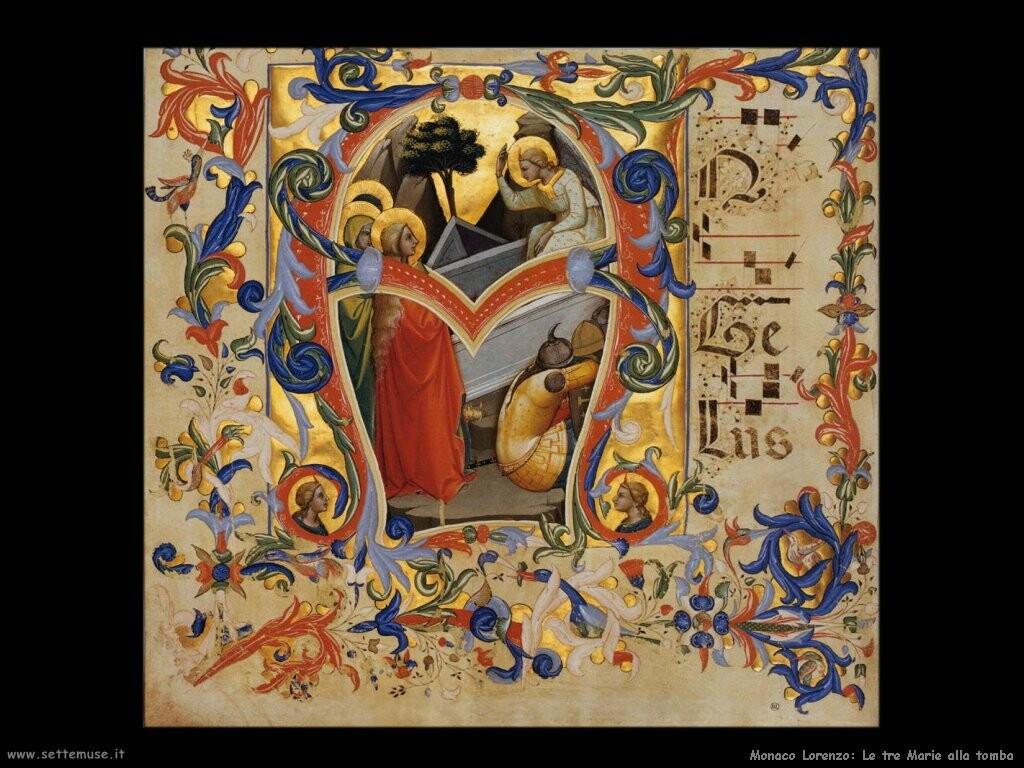 monaco lorenzo Le tre Marie alla tomba