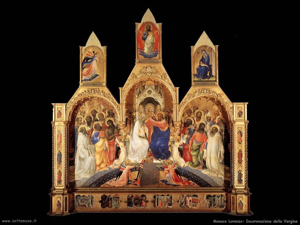 monaco lorenzo Incoronazione della Vergine