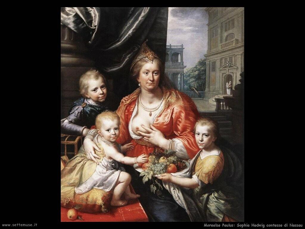moreelse paulus Sophia Hedwig contessa di Nassau
