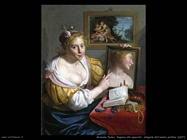 moreelse paulus  Ragazza allo specchio, allegoria dell'amore profano