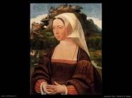 mostaert jan  Ritratto di donna