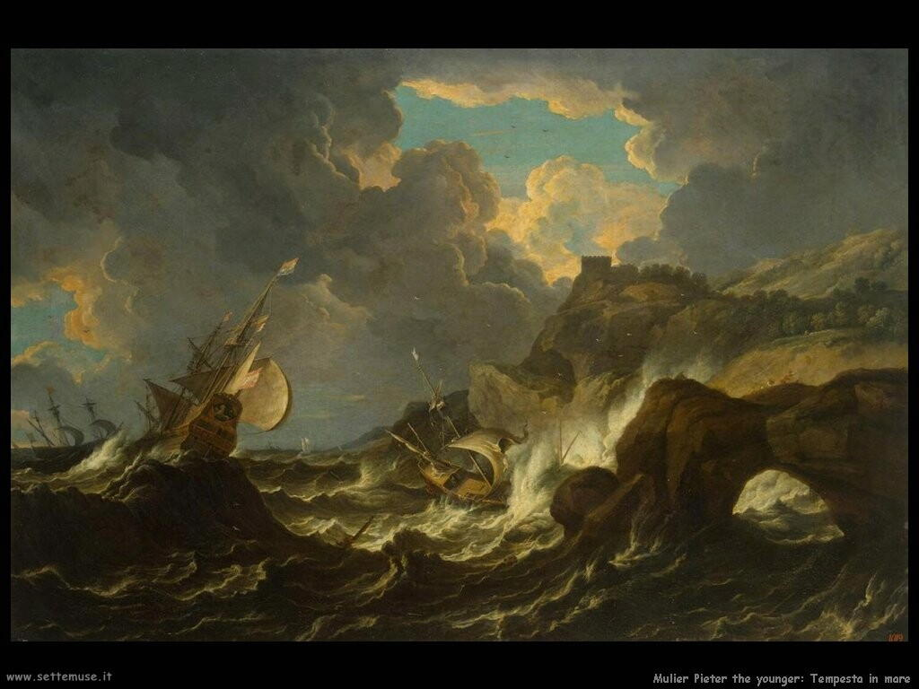 mulier pieter the younger Tempesta in mare