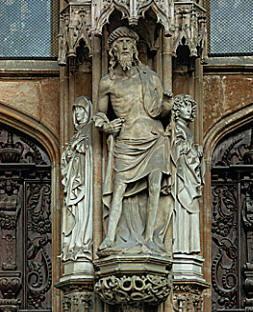 Cristo di Multscher Hans