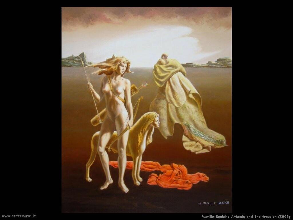 hugo murillo benich  Artemide e il viaggiatore (2005)