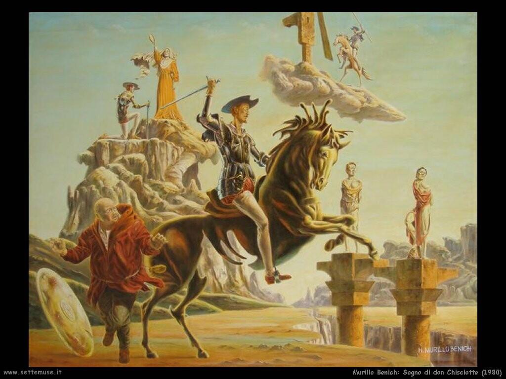 hugo murillo benich Sogno di don Chisciotte (1980)