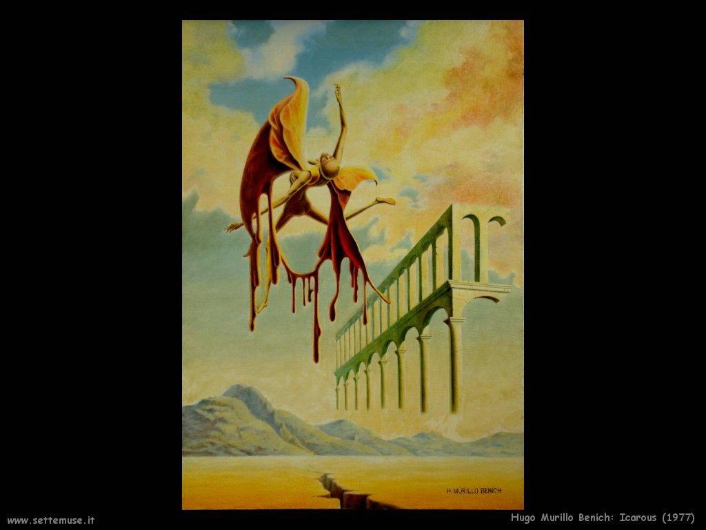hugo murillo benich icarous (1977)