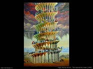 hugo murillo benich the exponential tower (1985)